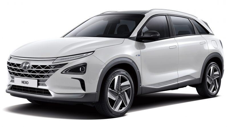 Hyundai Nexo, con celdas de hidrógeno
