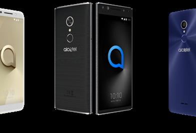 Nuevos Alcatel con seguridad biométrica