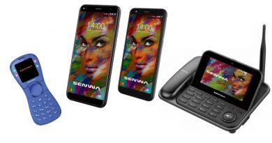 Senwa presenta su nueva línea de smartphones y equipos domésticos
