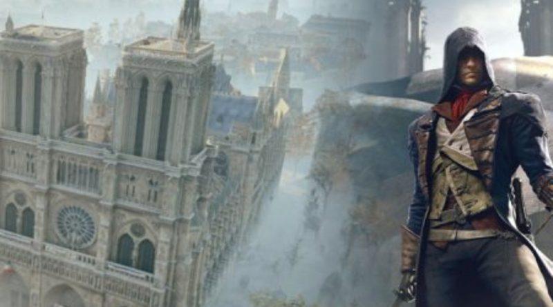 Assassin´s Creed apoya a la reconstrucción de Notre Dame